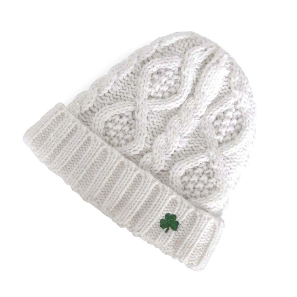 Cable Knit Beanie Hat 6dc9a13cf35d